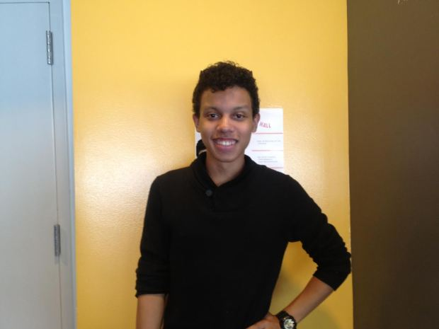Senior Drama student Romello Rodriguez is the new Student Government president.