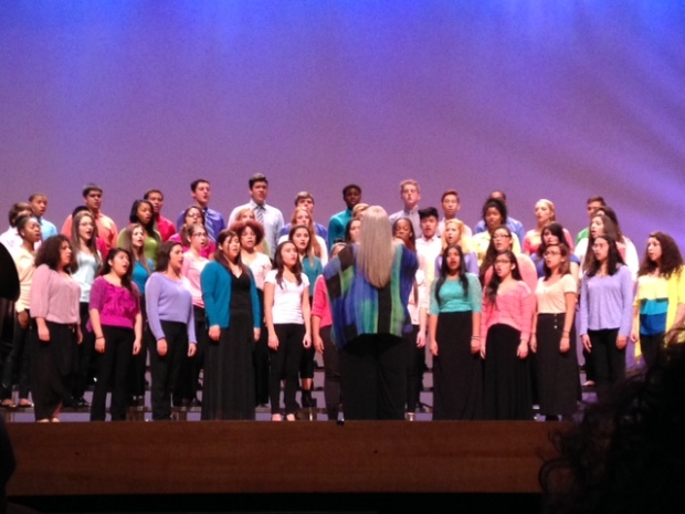 Vocalists at the FSSA Concert