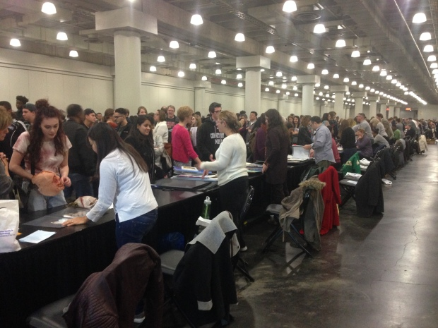 National Portfolio Day at Jacob Javits Center in NYC.