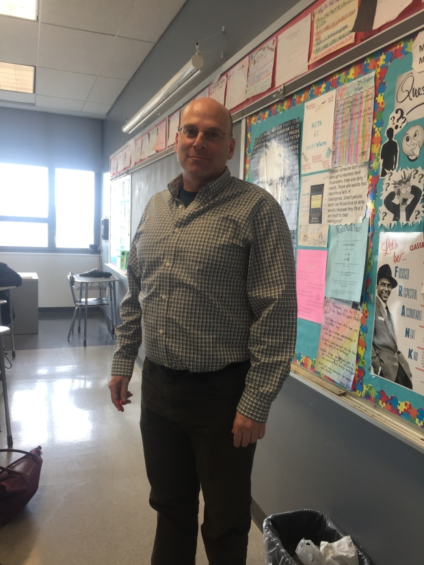 FSSA Math teacher, Mr. Love is also the school's mediator.