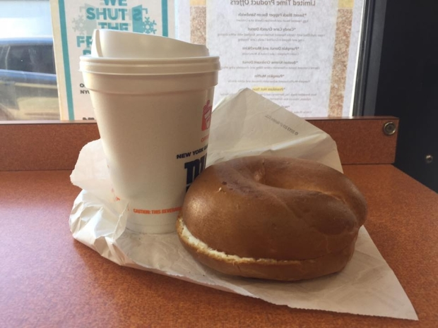 Students spend a lot of money at area businesses, Dunkin Donuts is one of the more popular spots. Image by Tim Sierra.